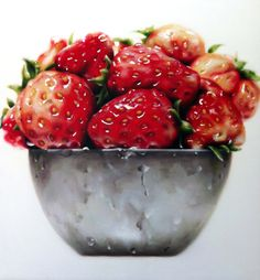 """Saatchi Online Artist: dongwook Lim; Oil 2013 Painting """"Delicious"""""""