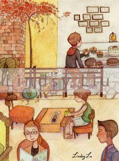 Storybook cafe.