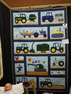 Tractor Quilt
