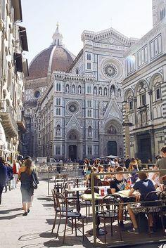 Piazza del Duomo - Florence, Italy.
