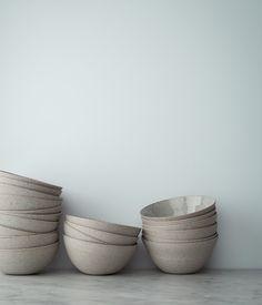 Herriott Grace —Stoneware + Porcelain Bowls by Sue Paraskeva