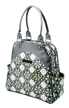 Petunia Pickle Bottom Sashay Satchel Diaper Bag, Baby Crossing