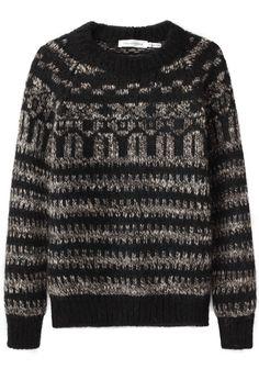étoile isabel marant gladys knit sweater