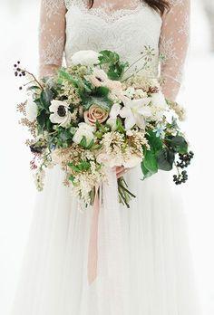 Lush White Wedding B