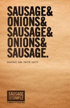Hillshire Farm Sausage & Onion Sauté. 15 Minutes to Sensational. #SoSimple