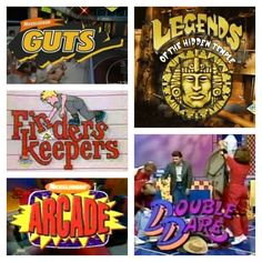 90's Nickelodeon game shows