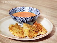 Gluten-Free Fried Fish with Spicy Garlic Aoli |