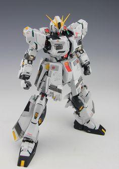 MG 1/100 FA-93 H.W.S. Nu Gundam Heavy Weapon System - Custom Build
