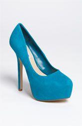 madden babylonn, pump, steve madden, something blue, peacock blue, shoe collect, bridal shoes, blue heel