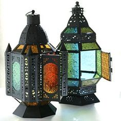 Moroccan Lanterns.