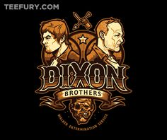 Dixon Bros Walker Control by Michael Myers Jr. and WinterArtwork - Shirt sold on April 1st at http://teefury.com