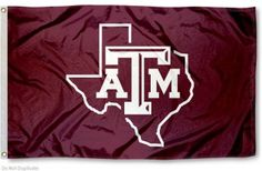 Texas A&M Lone Star Flag for the house!