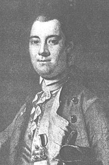 Lord William Tryon. [More like, Tyrant.] Dude was out of control. Wonder just how many families either perished or fled their homes and lands because of his handiwork?