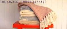 Ella Lou Throw Blankets