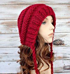 Knit Hat Pattern for Georgette Beehive Bonnet