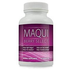 Maqui Berry Select Natural Maqui Berry Weight Loss Formula - Lose Weight and Burn Belly Fat with Maqui Berry Diet Supplement ~ 1 Bottle $41.99 - #weight-loss
