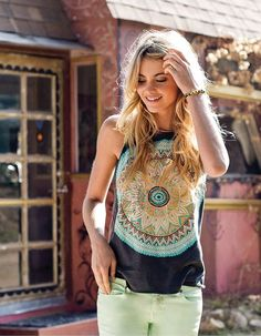 boho style love the shirt!!!!!!!!!!!!!!!!!!!!!!!!!!!!!!!!!!!!!!!!!!!!!!!!!!!!!!!!!!!!!!!!!!!!!!!! summer shirts for women, cute summer shirts for teens, cloth, outfit, sundial tank, womens fashion boho, closet, boho style, wear