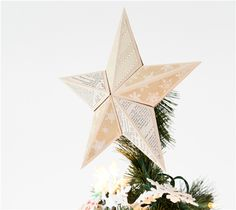Project Center - Christmas Tree Star Topper