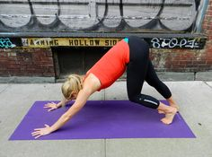 Yoga for runners - IT band stretch
