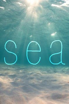 Sea = love <3 Summer quotes and images +++for more quotes about #summer and having #fun, visit http://www.quotesarelife.com/