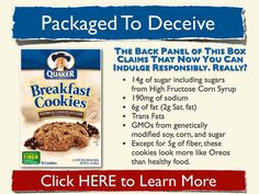 """Can cookies for breakfast be good for you? Quaker says """"yes"""" and I say """"no."""""""