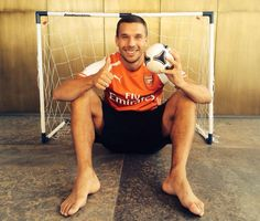 A new season, the same passion!! I'm hungry for scoring for the GUNNERS again...good luck for today's game! Poldi