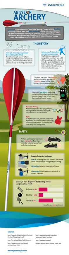 An Eye on Archery Infographic
