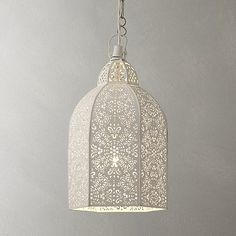 Morrocan-style lampshade