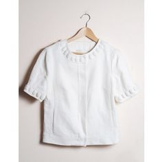 Banana Republic Jackets & Blazers - Short Sleeve Linen Blazer w/ Linen Jewels