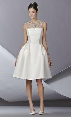 wedding dressses, fashion weeks, short wedding dresses, rehearsal dress, bridal fall, herrera bridal, carolina herrera, 2014 bridal, bridal fashion