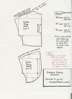 Bolero pattern/tutorial