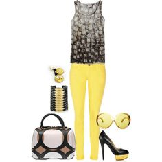 Here comes the sun, created by strictly-isabel on Polyvore