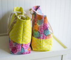 Rope Handled Tote {easy tutorial + giveaway} — SewCanShe   Free Daily Sewing Tutorials