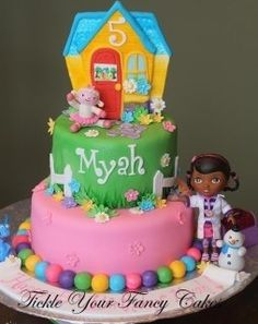 doc mcstuffins cake | Doc McStuffins cake idea | Birthday ideas :-)