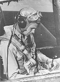 George Herbert Walker Bush - b. June 12, 1924.  For a time during World War II he was the youngest pilot in the Navy.  Flew a Grumman TBM Avenger.  The only survivor of his squadren, the book 'Flyboys' details the tragic story.