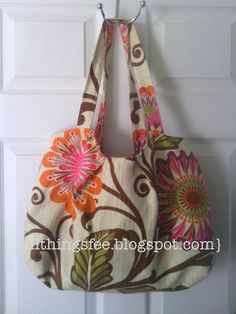Super cute bag made by @All Things Fee using @HGTV HOME #fabric!