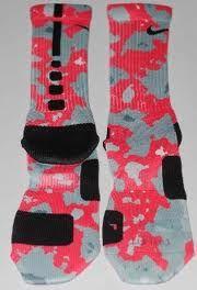 Nike Elite Socks Camo Pink Nike elite socksNike Elite Socks Camo Pink