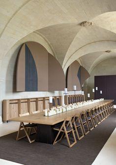 The Abbaye de Fontevraud Hotel . Anjou