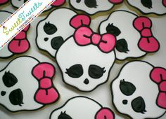 Monster High cookies