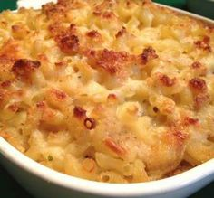 "Classic Baked Macaroni & Cheese: ""I started making this recipe years ago and now I make it for every holiday. There really is NO substitution for this macaroni and cheese!"" -Melathome #UltimateThanksgiving"