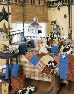 Cowboy theme'd nursery <3 Idea if we have a boy.