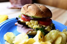 Everything on this samich looks good! Easter Leftover Sandwich | The Pioneer Woman Cooks | Ree Drummond