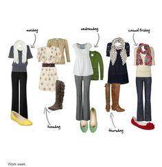 I'm not a teacher, but I like the outfits