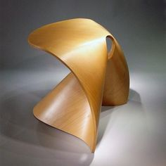 Fortune cookie stool by Po Shun Leong.