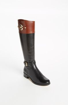 MICHAEL Michael Kors 'Stockard' Bootie available at #Nordstrom I want these for Christmas!