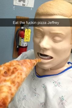 EAT THE PIZZA