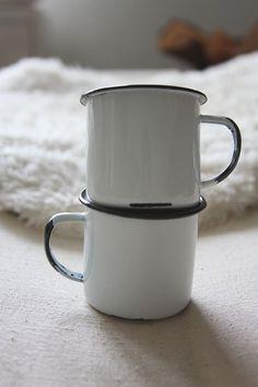 Enamelware Cups.