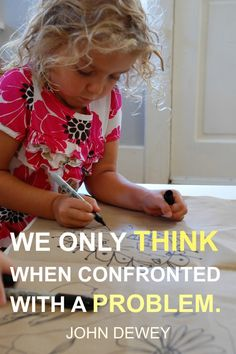 Tinkerlab.com: Setting up experience for your child, be it providing drawing materials and other decorations or an activity outside is always a good thing. This pin explores what you can do with OPEN-ENDED ideas, where the child is much more self directed. It's definitely worth the read.