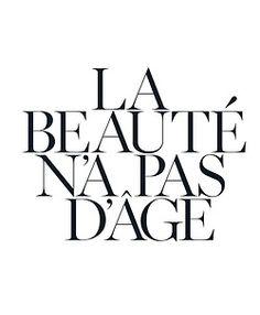 beauty has no age....