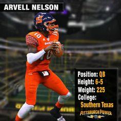 Arvell Nelson- QB/WR/JLB